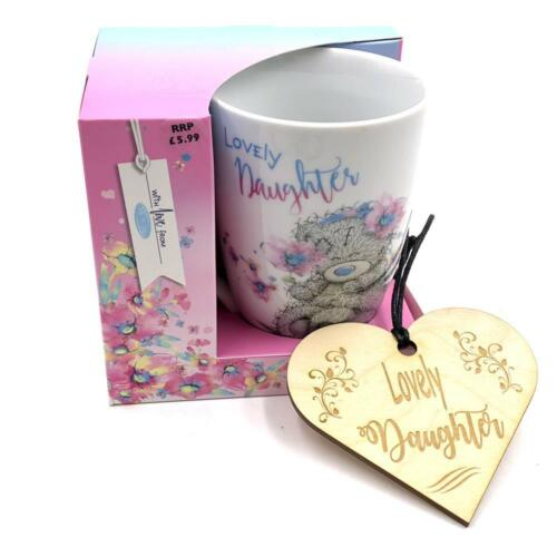Me To You Tatty Teddy Lovely Daughter Boxed Mug And Hanging Plaque Gift AGM01014