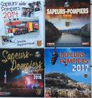 Lot de 4 calendriers des pompiers de GRENOBLE 2014 à 2017