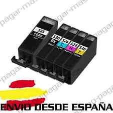 5 CARTUCHOS DE TINTA COMPATIBLES NonOem PARA CANON PIXMA iP4850 IX6550 MG5200
