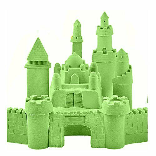 Magic Motion Moving Crazy Play Sand Modelling Mould Full Color Kids Toy Gift 30d
