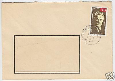 Mi.-nr Bedarfspost 1965 Ddr 1089 Ef Veb Puppenwerkstätten O Bad Kösen Fa
