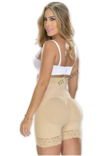Faja Colombiana Levanta Cola High Waisted Tummy Control Underwear Butt Lifter