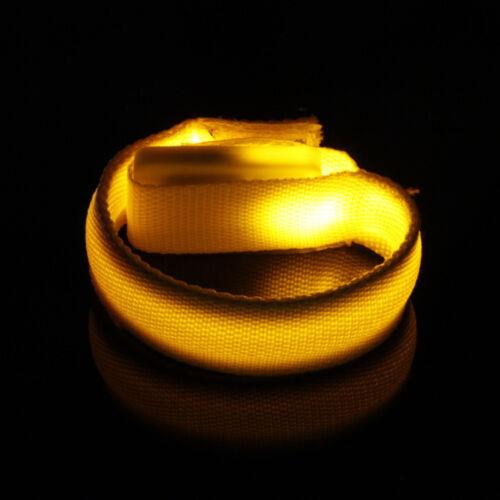 LED Armband Reflektorband Leuchtband Jogging Sicherheitsband Klettband Outdoor