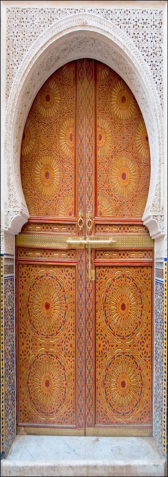 Cartel Póster Puerta Decoración Trampantojo Ojo Oriental Ref 058-4 Tallas