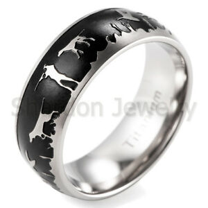Duck Hunters Dream Wedding Band Titanium Outdoor Hunting Ring EBay