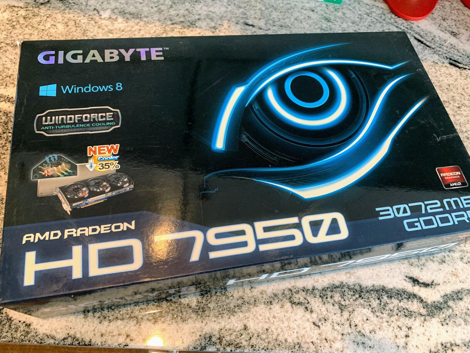Gigabyte HD 7950 3GB AMD Radeon CrossFire Support Hackintosh Windows 10