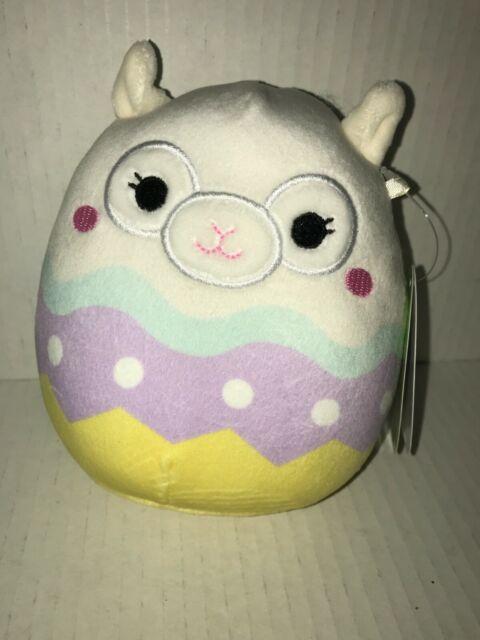 """Set of 6 Squishmallows Kellytoy 2021 Springtime Easter 5/"""" Mini Plush Doll"""