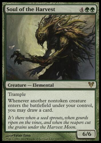 R Soul of the Harvest MTG Magic - Avacyn Restored SP