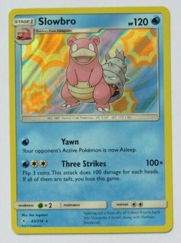 Select your card SUN /& MOON UNBROKEN BONDS Rare HOLO Pokemon Cards