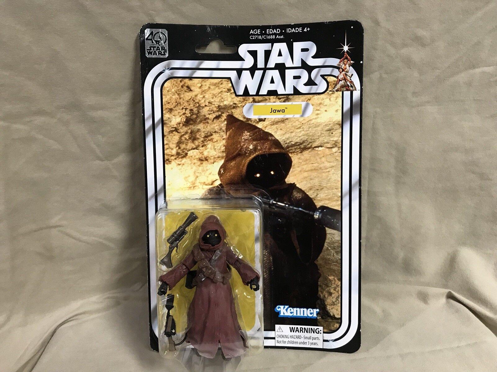 Hasbro C2718 Star Wars 40th Anniversary Black Series 6 Inch Jawa Action Figure