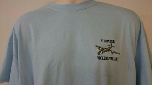 RAF ROYAL AIR FORCE VICKERS VALIANT V BOMBER T-SHIRT