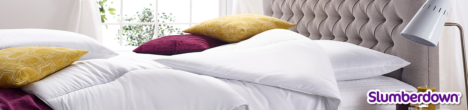 Save up to 20% Off Slumberdown Luxury Bedding