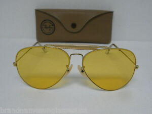 d48728ed67 New Vintage B L Ray Ban 1980 s Outdoorsman II Arista Ambermatic 62mm ...
