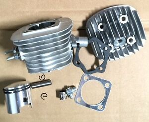 """type B 8mm silver 40mm intake TOPEND 1 1//16/"""" 47mm 80CC Motor Bicycle Engine"""