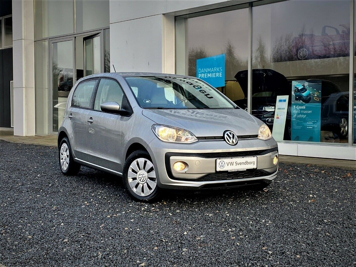 VW Up! 1,0 MPi 60 Move Up! BMT 5d - 124.800 kr.