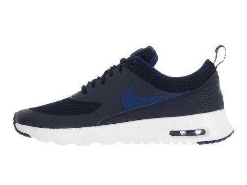 Nike WMNS Air Max Thea TXT Women Lifestyle SNEAKERS Obsidian Coastal Blue 8.5