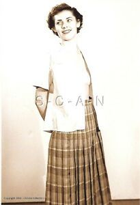 ORIGINAL VINTAGE 1940S-60S Nude Sepia RP- Shy Mature