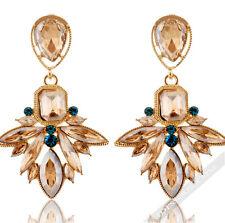 Inka Ohrringe 1 Paar Ohrhänger Kristall Diamant Ohrstecker Damen Luxus LA FERANI