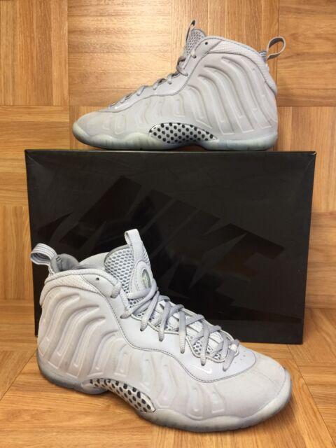sale retailer 5e39d a6051 RARE🔥 Nike Lil Posite One Premium Wolf Gray Black 807198-007 Cool Gray 6Y
