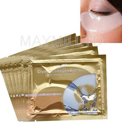 Collagen Crystal Eyelid Patch Moisture Anti Wrinkle Circles Eye Mask New Hot OV