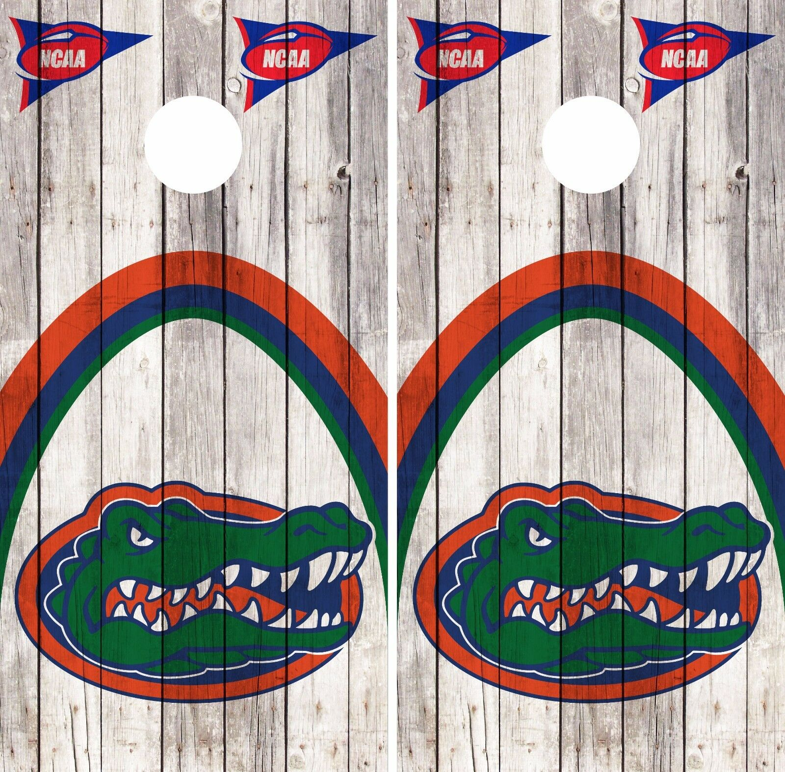 Florida Gators Cornhole Skin Wrap NCAA Basketball Vintage Art Decor Vinyl DR273
