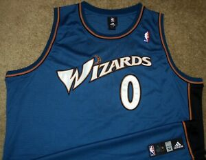 NEW VTG AUTHENTIC GILBERT ARENAS WASHINGTON WIZARDS NBA ADIDAS ...