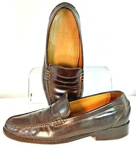 Cole Haan Barrett Penny Loafer Mens 11 M Brown Leather ...