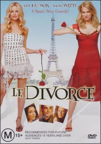 1 of 1 - LE DIVORCE (Kate HUDSON Naomi WATTS Stockard CHANNING) Romantic Comedy DVD Reg 4