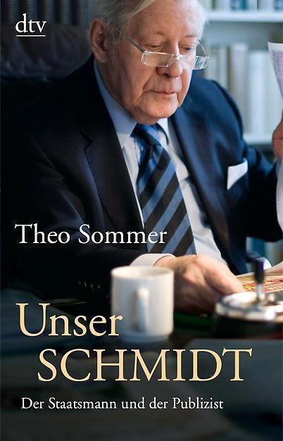 Unser Schmidt  Theo Sommer  Biographie  Taschenbuch   ++Ungelesen ++