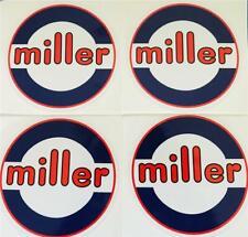Miller Electric Welder 6 Decals Set Of 4 Oempeel Amp Stick Trailblazerbobcat A