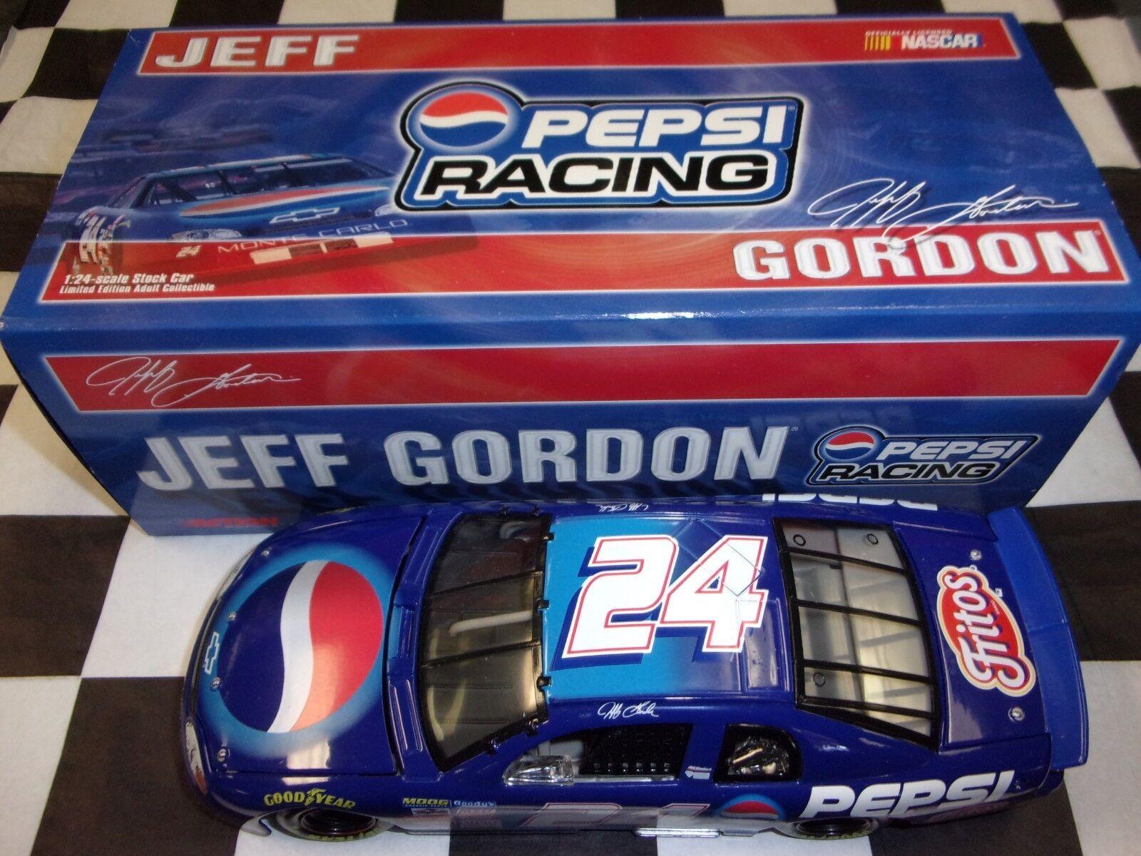 Jeff Gordon Pepsi 1999 Monte Carlo Escala 1 24 coche W249935077 acción de NASCAR