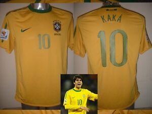 893d6169c58 Image is loading Brazil-Brasil-Nike-KAKA-Football-Soccer-Shirt-Jersey-