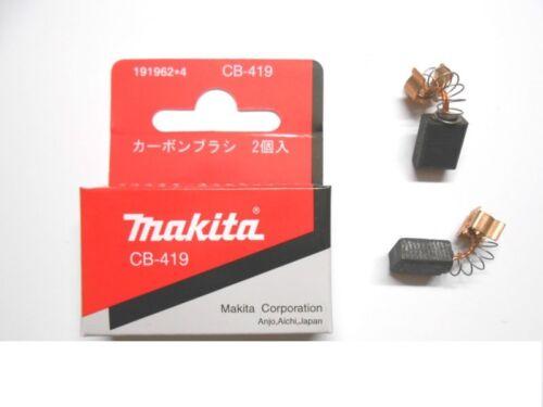 MAKITA CB-419 = CB-407 CARBON BRUSHES 191962-4 1919624 195015-1 1950151