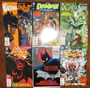 Batman-Lot-Spirit-Damian-Catwoman-Red-Robin-Adventures-Talon-1-Lot-Darwin-Cooke
