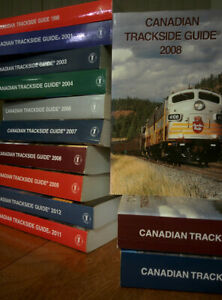 Hard to Find Back Issues CANADIAN TRACKSIDE GUIDE Reference ~ Choose Your Year