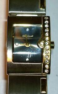 NEU-Original-Beinhardt-Quarz-Damen-Armbanduhr-mit-Metallband-Bicolor