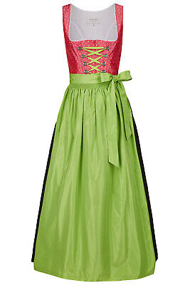 Angermaier Damen Midi-Dirndl Tracht Kleid Oktoberfest Wiesn Balkonette Baumwolle