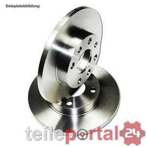 2x-Brake-disc-239-Discs-Full-Brake-A3-TT-GOLF-BORA-Rear-Axle