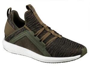 New Puma mega nrgy zebra mens running shoes green olive 190975-03 ... 0852708f11741