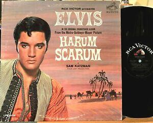 Elvis Presley Harum Scarum Vinyl LP RCA Victor LPM-3468 1st Press Mono, NM Photo