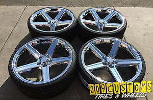 24 Iroc Chrome Wheels Tires Fits Monte Carlo Caprice Cutlass Regal
