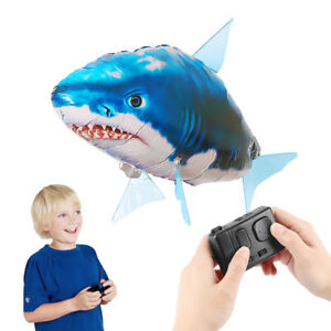 New-Remote-Control-Flying-Fish-RC-Plastic-Inflatable-Blimp-Animal-Balloon-Toys