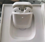 thumbnail 1 - AirPods (2nd Generation) Earbuds with Wireless Charging Case White Refurbished