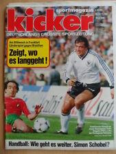 KICKER 22 10.3. 1986 * Felix Magath FC Bayern-Düsseldorf 2:3 Schalke 04-Köln 3:0