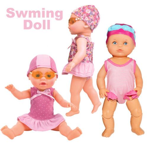 Electric Swimming Doll Waterproof Breaststroke Beach Float Water Baby Toys Arts