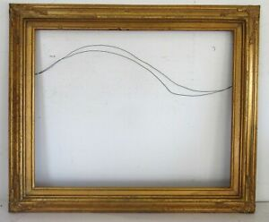 AMERICAN ART & CRAFTS GILDED WOOD FRAME FOR PAINTING  20 X  16 INCH ( f - 12)