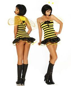 Ial 10622 Maja Sexy Bienenkostum Biene Kostum 36 38 Ebay