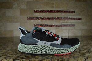 NEW-Sale-Adidas-ZX-4000-Futurecraft-4D-Mens-BD7931-Black-Onix-Onyx-Red-White