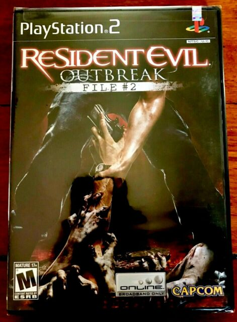 RESIDENT EVIL OUTBREAK FILE 2 PLAYSTATION 2 (US) NTSC BRAND NEW FACTORY SEALED