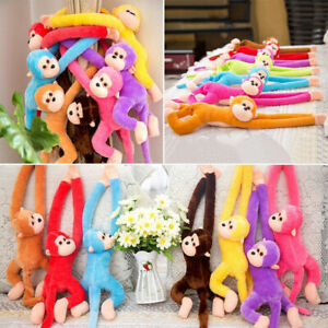 Kids Soft Plush Toys Cute Colorful Long Arm Monkey Stuffed Animal Doll Gifts New